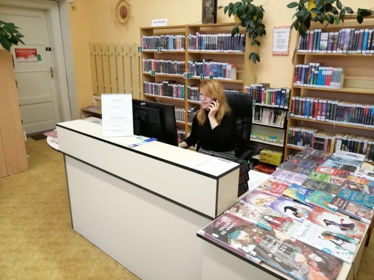 Rozhovor s knihovnicí – Alenou Hubáčkovou